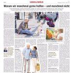 Westdeutsche Allgemeine Zeitung WAZ - Karen Hartig als Expertin zum Thema Hilfsbereitschaft