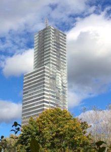 Der Kölnturm im Mediapark Köln - Mit Wingwave Coaching die Angst vorm Aufzug auflösen