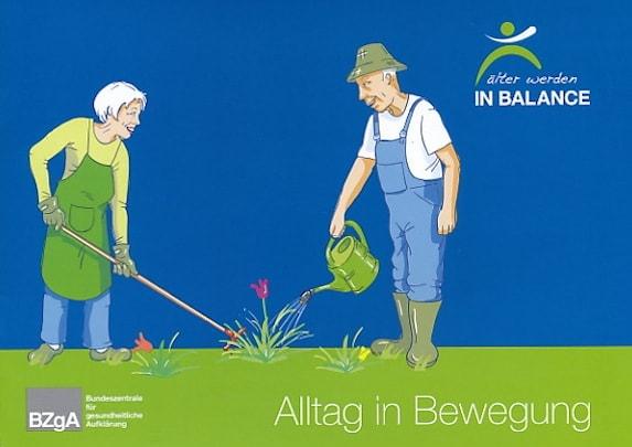 Broschüre Alltag in Bewegung - BZgA