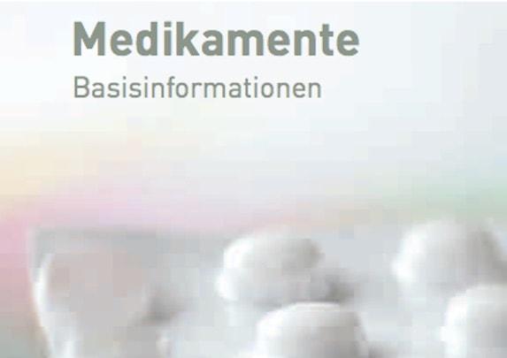 Broschüre Basisinformationen über Medikamente (DHS)