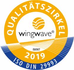 Logo des Qualitätszirkels Wingwave 2019