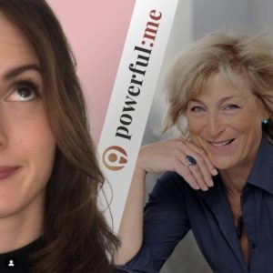 Karen Hartig im Podcast powerful:me mit Lisa Pertagnol